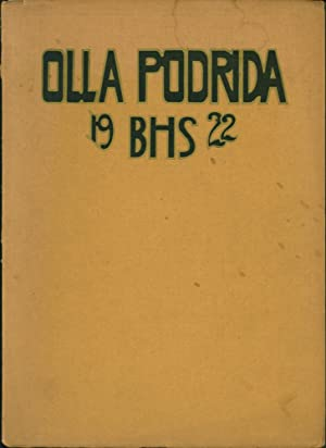 1922 Berkeley High School Olla Popdrida Yearbook (Spring term): Herms, William, editor