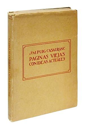 Paginas viejas con ideas actuales: Puig Casauranc, J. M.