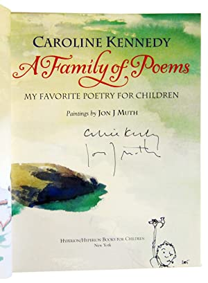 A Family of Poems: My Favorite Poetry for Children: Kennedy, Caroline; illustrated by Jon J. Muth
