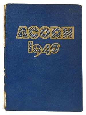The Acorn 1946 Alameda High School Yearbook: Mueller, William Max (editor)