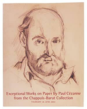 Exceptional Works on Paper by Paul Cezanne from the Chappuis-Barut Collection, Thursday 26 June, ...