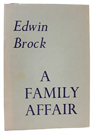 A Family Affair: Two Sonnet Sequences: Brock, Edwin