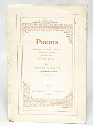 Poems: Coronation of King George V., Wondrous Nature, Convolvulus, and Other Poems: Neate, John