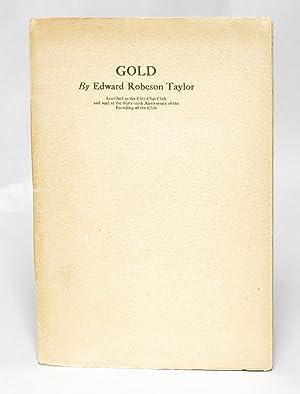 Gold: Taylor, Edward Robeson