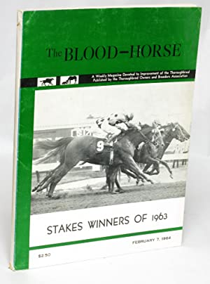 Stakes Winners of 1963: The Blood Horse, February 7, 1964: Hollingsworth, Kent