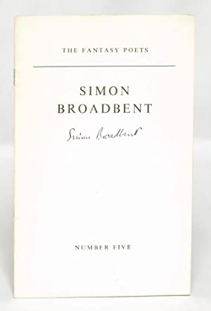 Simon Broadbent: The Fantasy Poets Number 5: Broadbent, Simon