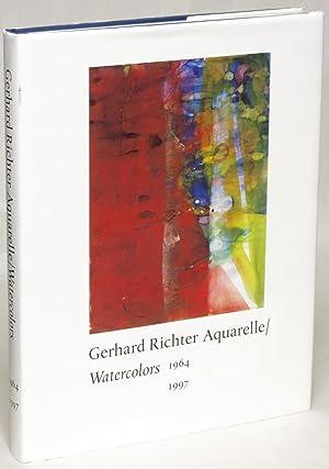 Gerhard Richter Aquarell/Watercolors: 1964-1997: Richter, Gerhard), Schwarz, Dieter (editor)