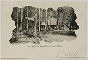 Scene in Still's Park, Puget Sound, Wash. [Whidbey Island]