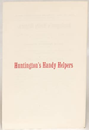Huntington's Handy Helpers [cover title]