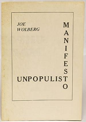 Unpopulist Manifesto: Wolberg, Joe
