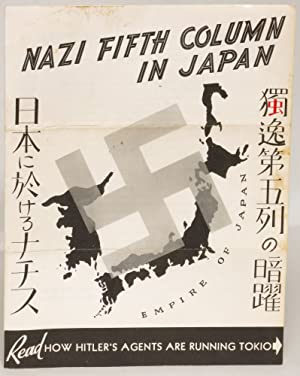 Hitler's Agents Are Running Tokio [Nazi Fifth Column in Japan (cover title)]: Spinks, Charles ...