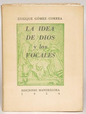 La idea de dios y las vocales: Gómez-Correa, Enrique