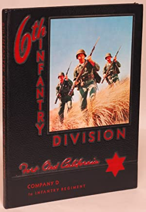 6th Infantry Division, Company D, 1st Infantry Regiment, Fort Ord, California Yearbook: Albert Love...