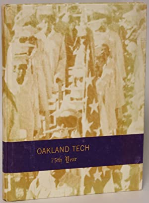 1972 Oakland Technical High School Talisman Yearbook