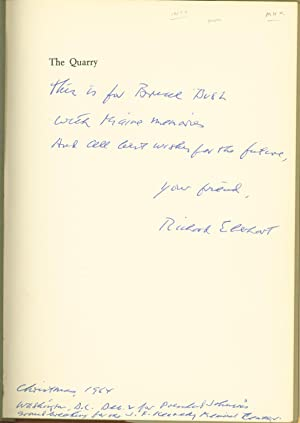 The Quarry: Richard Eberhart