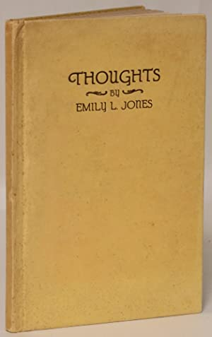 Thoughts: Jones, Emily L.