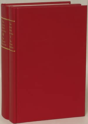 New Jersey Books: The Joseph J. Felcone Collection. Volume I: 1698-1800; Volume II: 1801-1860: ...