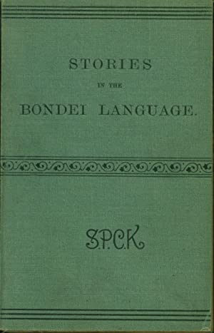 Stories in the Bondei Language with Some Enigmas and Proverbs
