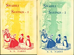 Swahili Sayings from Zanzibar [and] Riddles & Superstitions from Zanzibar [two volumes, complete,...