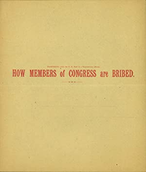 How Members of Congress Are Bribed