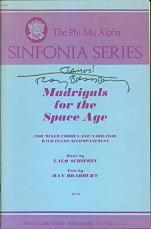 Madrigals for the Space Age for Mixed Chorus and Narrator with Piano Accompaniment