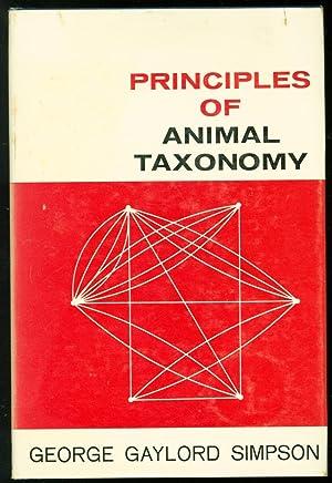 Principles of Animal Taxonomy: George Gaylord Simpson