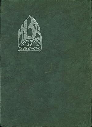 1929 Balboa High School Yearbook: Balboa Journal Volume One Number One (San Francisco, CA): Balboa ...