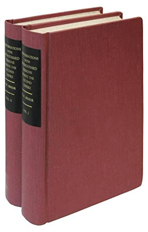 Conversations with Distinguished Persons During the Second Empire, from 1860 to 1863: Senior, ...