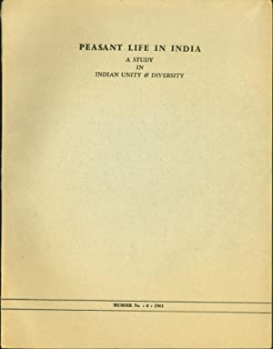 Peasant Life in India: A Study in Indian Unity and Diversity