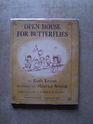 Open House for Butterflies: Sendak , Maurice , and Krauss , Ruth