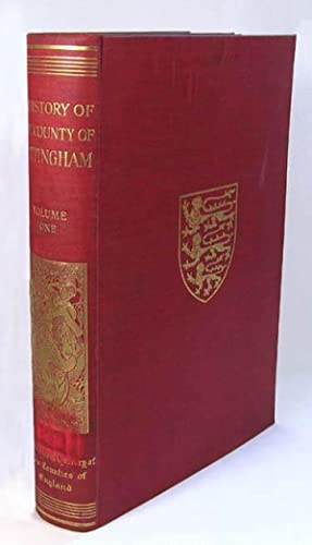 VICTORIA HISTORY OF THE COUNTY OF YORK, NORTH RIDING, VOLUME I.: Page, William. (Ed.)