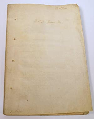 ANNO QUINTO & SEXTO VICTORIAE REGINAE: CAP. XXXV AN ACT FOR GRANTING TO HER MAJESTY DUTIES ON ...