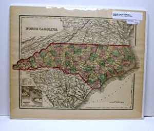 NORTH CAROLINA [Map]. From Gray's Atlas of the United States.