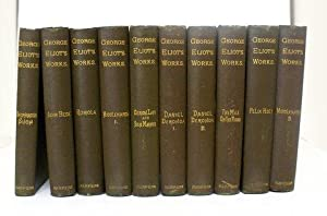 GEORGE ELIOT'S WORKS: ADAM BEDE. DANIEL DERONDA.: Eliot, George.