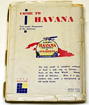 BLUE GUIDE TO CUBA. SEASON OF 1935-1936.: Le Febure, Roger (Editor).
