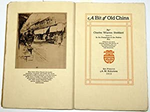 A BIT OF OLD CHINA.: Stoddard, Charles Warren.