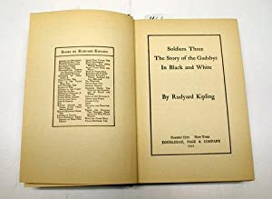 Soldiers Three , Under the Deodars, Plain: Kipling, Rudyard