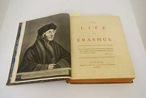 LIFE OF ERASMUS. VOLUME 1 ONLY.: Jortin, John.