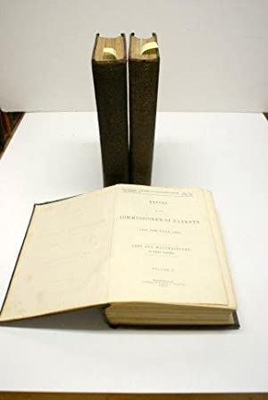 REPORT OF THE COMMISSIONER OF PATENTS FOR THE YEAR 1856. ARTS AND MANUFACTURES, IN THREE VOLUMES. ...