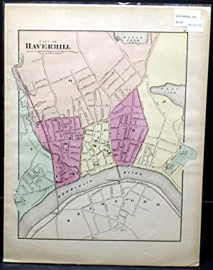 CITY OF HAVERHILL. [Map]: Walling, H. F. and O. W. Gray.
