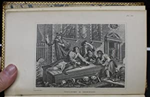 COMPLETE WORKS OF WILLIAM HOGARTH; INCLUDING THE ANALYSIS OF BEAUTY, PRINTED VERBATIM FROM THE ...