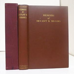 MEMOIRS OF BRYANT B. BROOKS. COWBOY, TRAPPER,: Brooks, Bryant B.
