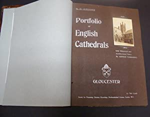 PORTFOLIO OF ENGLISH CATHEDRALS WITH HISTORICAL AND ARCHITECTURAL NOTES: Fairbairns, Arnold