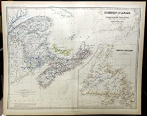 DOMINION OF CANADA [MAP] (EASTERN SHEET) COMPRISING: Johnston, Keith.