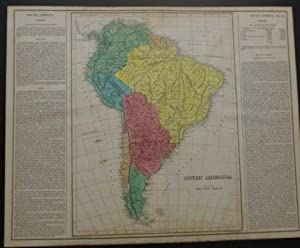 GEOGRAPHICAL, HISTORICAL, AND STATISTICAL MAP OF SOUTH AMERICA.: Carey, Henry Charles & Isaac Lea.