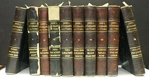JOHN L. STODDARD'S LECTURES, VOLUMES I-9. PLUS: Stoddard, John L.