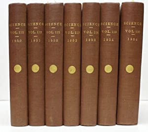 SCIENCE (JOURNAL). INDICES TO VOLUMES 112, 113, 115, 117-120.: Unknown.