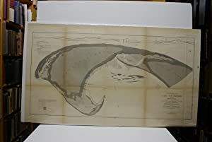 COMPARATIVE MAP OF CAPE COD HARBOR SHOWING PHYSICAL CHANGES BETWEEN THE SURVEY OF MAJ. J.D. GRAHA...