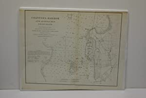 COASTERS HARBOR AND APPROACHES, RHODE ISLAND. [CHART].: Bache, Alexander Dallas.