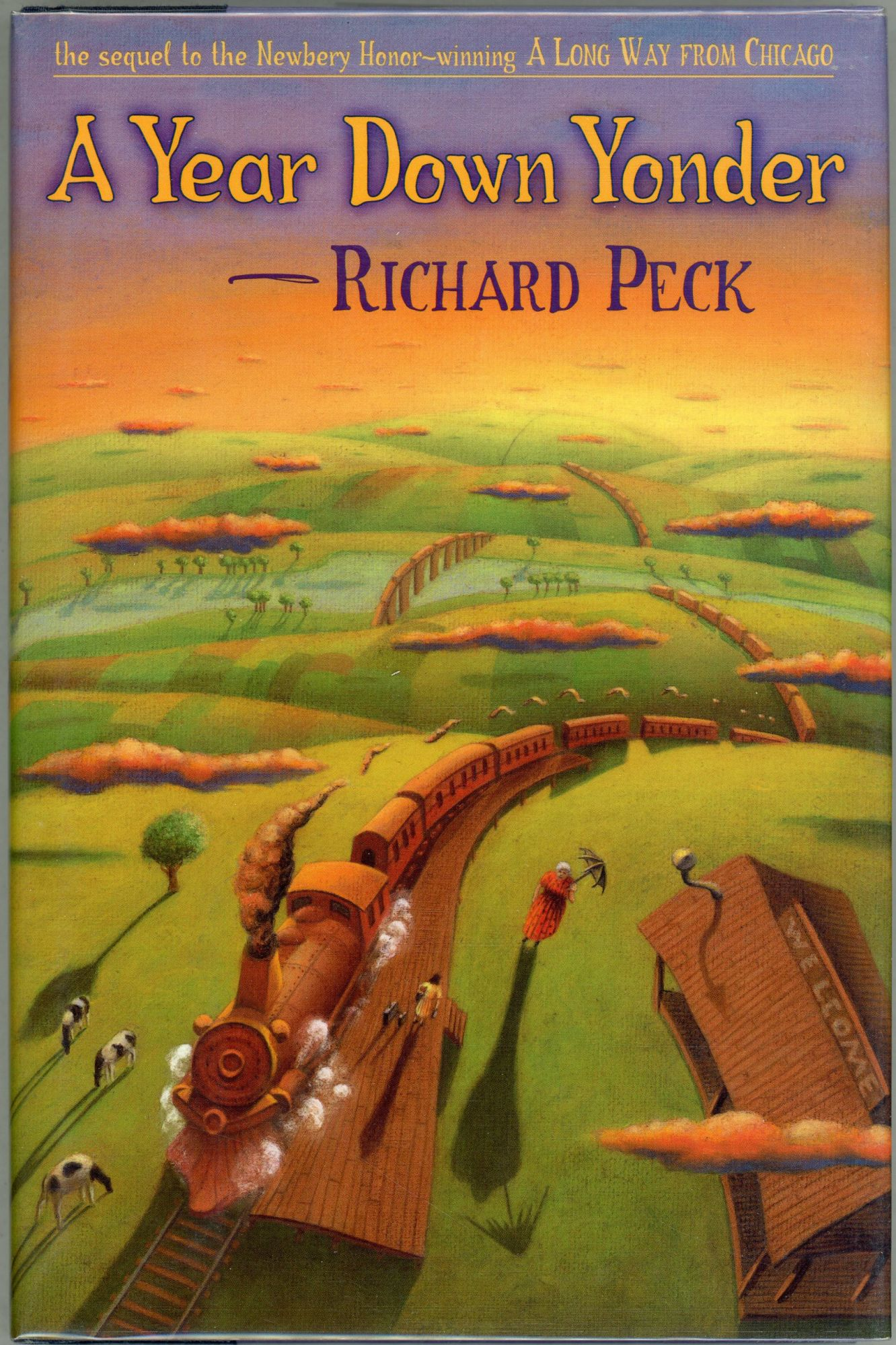 richard peck i go along